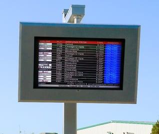 Green Bay Austin Straubel Airport LCD Enclosure ViewStation ITSENCLOSURES.jpg