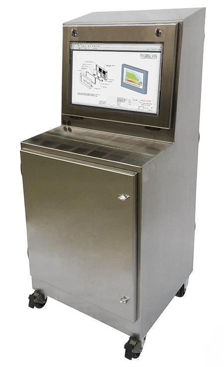 IS603027-4X-Standing-Enclosure-IceStation-TITAN-NEMA-4X-Stainless-Steel-ITSENCLOSURES-icestation
