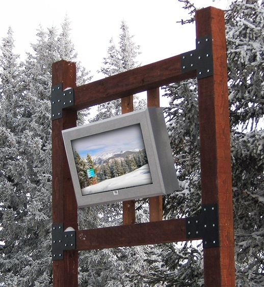 Vail Ski Resort - ViewStation Universal Outdoor Digital Signage - ITSENCLOSURES.jpg