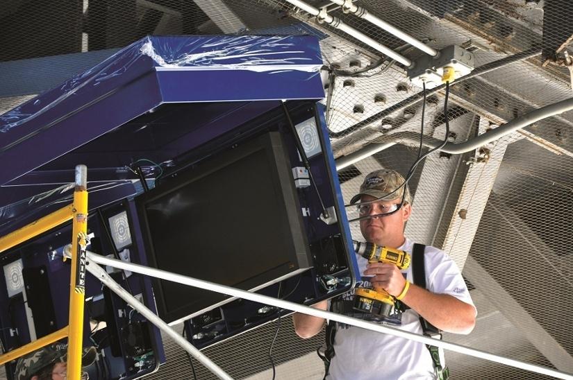 ViewStation LCD enclosure Penn State University Install