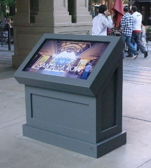 itsenclosures viewstation touchscreen kiosk lcd Enclosure